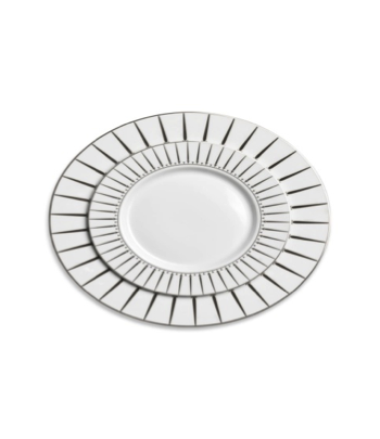KORKMAZ SERVICE DE TABLE BIANCA. 86 Pcs