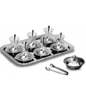 KORKMAZ RINGA TEA SET - 40 PCS