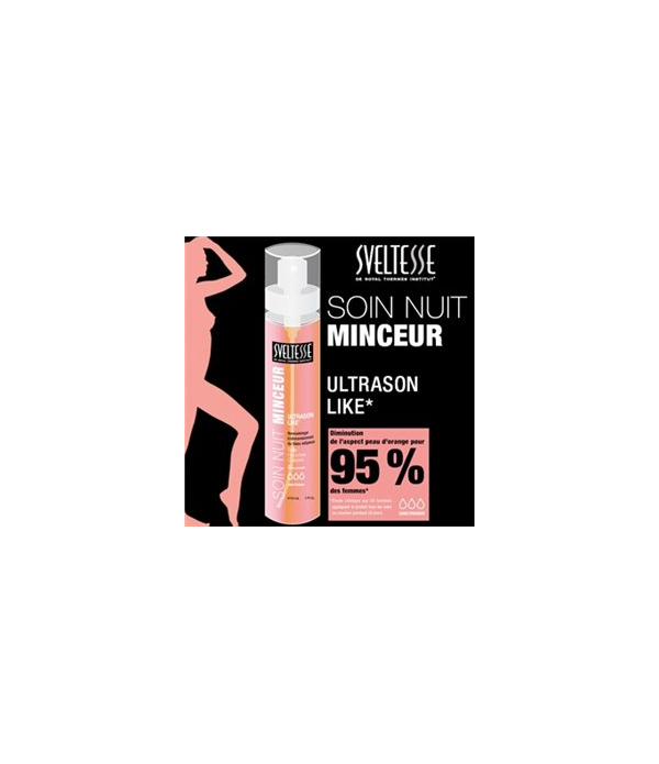 SVELTESSE SPRAY SOIN NUIT MINCEUR 150ml Tailles - Hanches - Cuisses