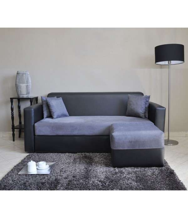 ENYO CANAPE 3 PLACES + POUF
