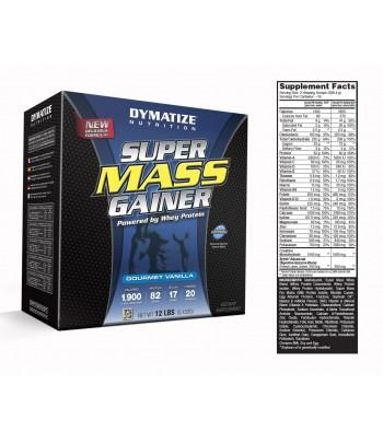 Dymatize Super Mass Gainer - 12LB - 5.4Kg