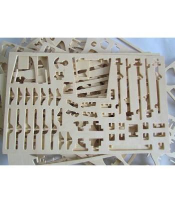 DRAGON BOAT - PUZZLE 3D EN BOIS