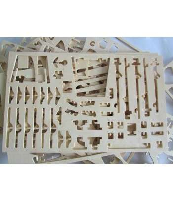 TEMPLE OF HEAVEN - PUZZLE 3D EN BOIS