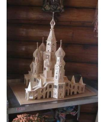 PETERSBURG CHURCH-PUZZLE 3D EN BOIS
