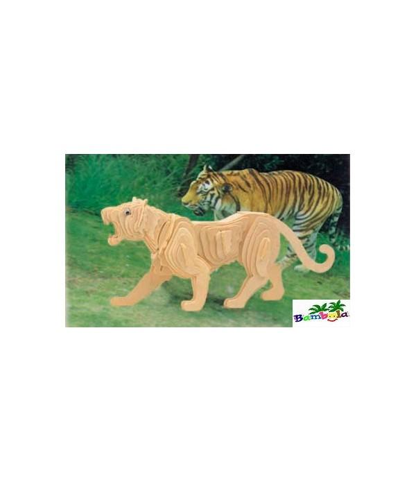 TIGER - PUZZLE 3D EN BOIS