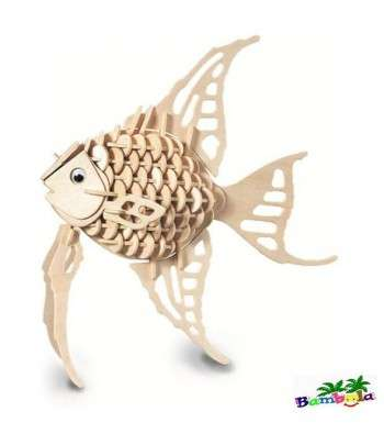 ANGEL FISH - PUZZLE 3D EN BOIS