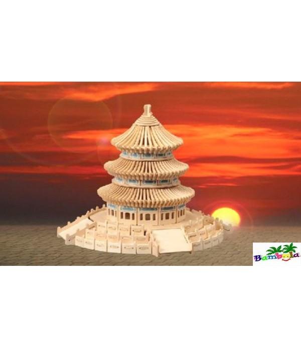 TEMPLE - PUZZLE 3D EN BOIS