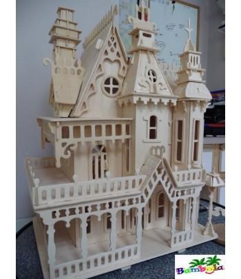 FANTASY VILLA - PUZZLE 3D EN BOIS