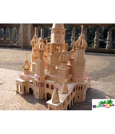 PETERSBURG CH.-PUZZLE 3D EN BOIS