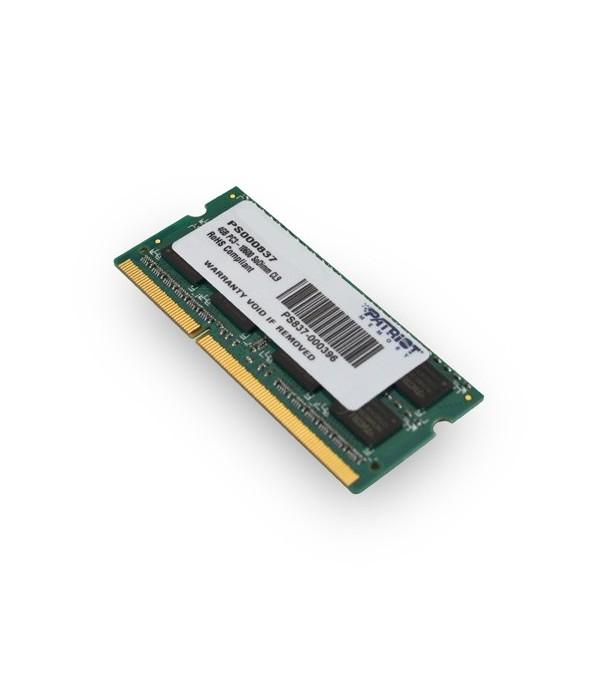 PATRIOT Mémoire SODIMM 1Go DDR3