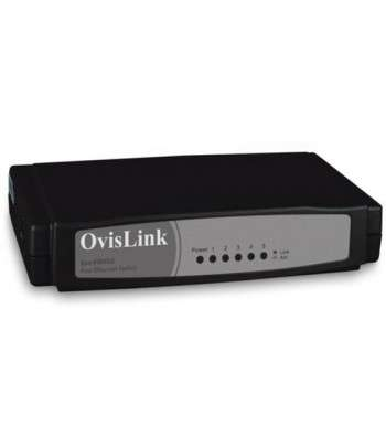 OVISLINK Switch 5 ports Fast Ethernet