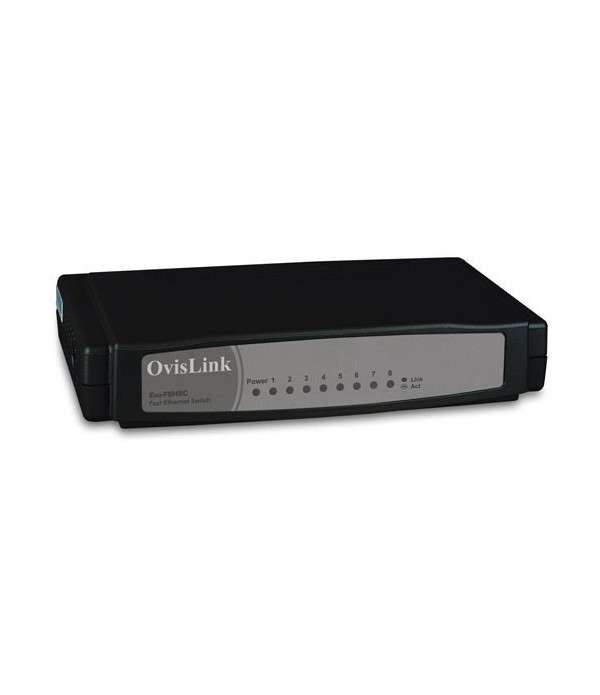 OVISLINK Switch 8 ports Fast Ethernet