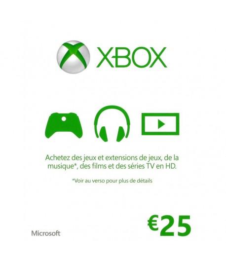 XBOX GIFT CARD - Carte Cadeau Microsoft
