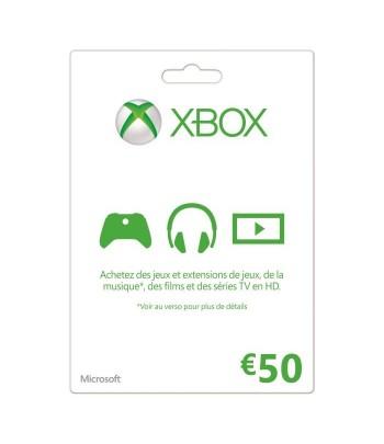 Microsoft Xbox Gift Card Maroc