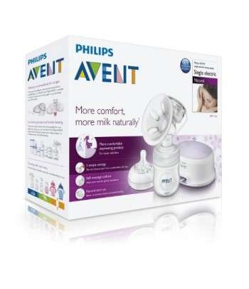 AVENT NATURAL TIRE LAIT ELECTRONIQUE SIMPLE 0% BPA