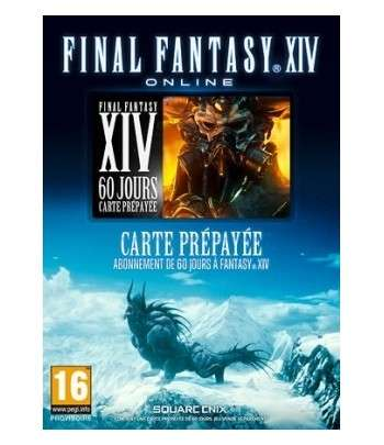 Final Fantasy XIV: A Realm Reborn Carte 60 Jours (Official Website) PC - clé