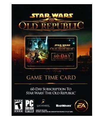 Star Wars The Old Republic 60 jours PC - clé