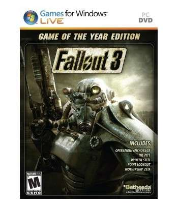 Fallout 3 GOTY Edition Pc-Clé