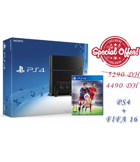 PLAYSTATION 4 + FIFA 2016