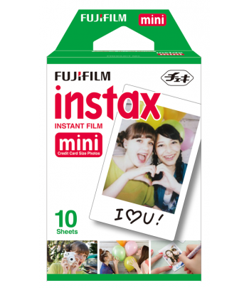 FUJIFILM Film Instax Mini 8 Pack 10