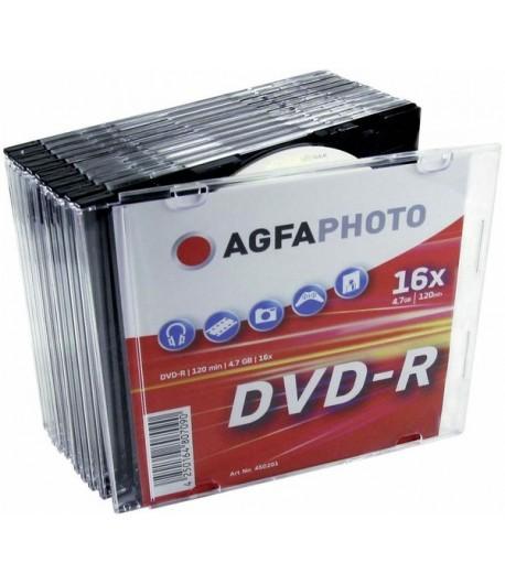 AGFA DVD-R Pack de 10