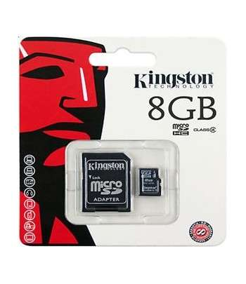 KINGSTON microSDHC 8GB