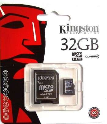 KINGSTON microSDHC 32GB