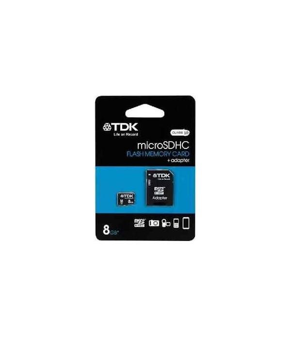 TDK Micro Sdhc 8GB Class 4