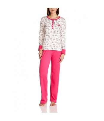 Pyjama Avec Haut Imprimé Fushia