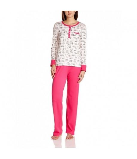 Pyjama Imprimé Fuschia
