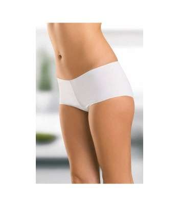 Shorty Confort Blanc Coton