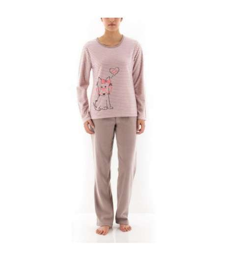 Pyjama Long Rayé