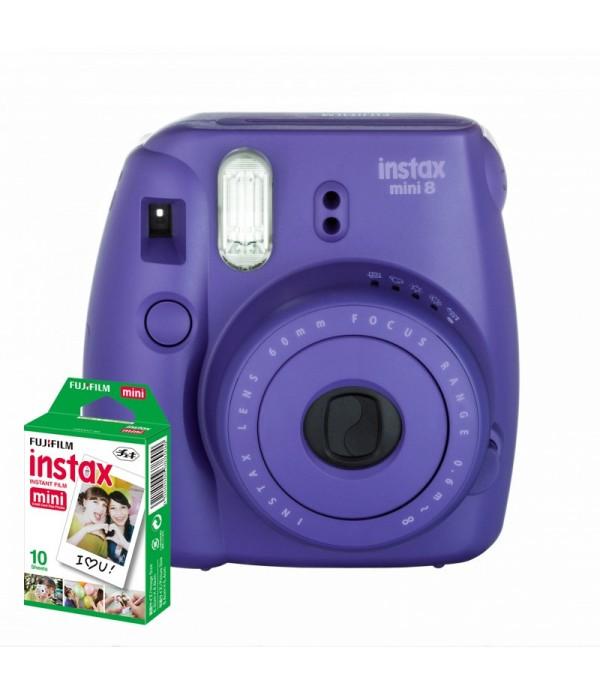 FUJIFILM Instax Mini 8 Appareil instantané Violet