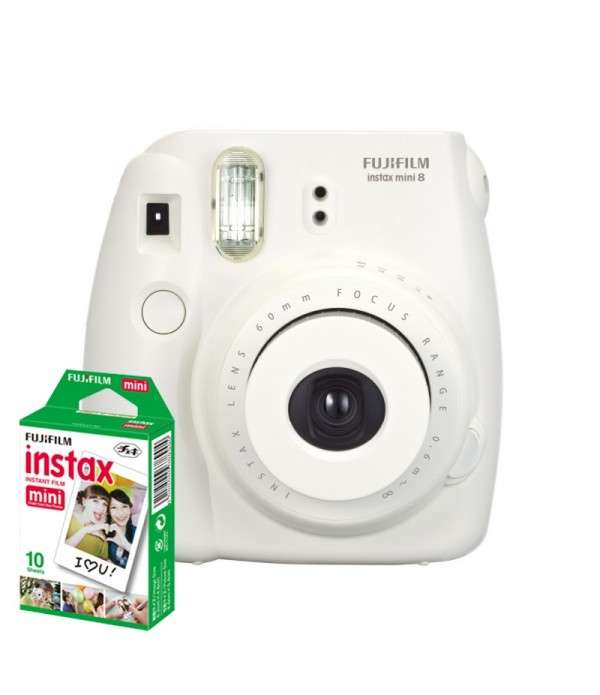FUJIFILM Instax Mini 8 Appareil instantané Blanc