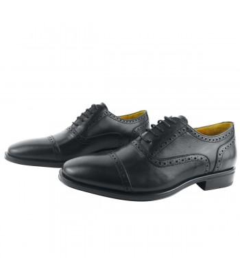 DELUXE cesar chaussures classiques noir