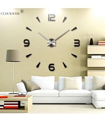 Horloge Murale Design 3DNoir
