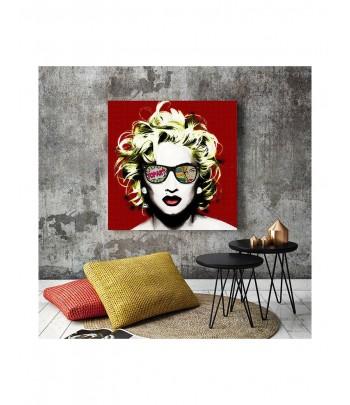 Tableau décoratif Pop Art Madonna
