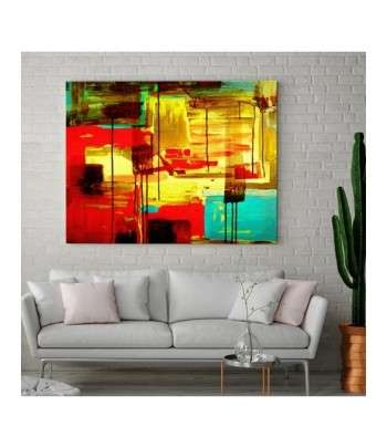 Tableau décoratif Abstract painting composition