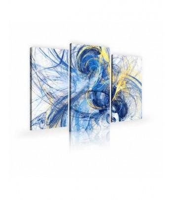 Tableau décoratif Futuristic dynamic Triptyque
