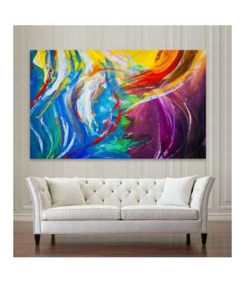 Tableau Abstract Colorful art