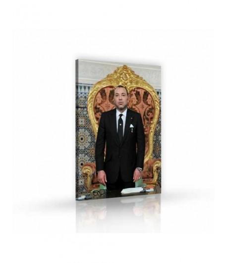 Tableau décoratif King of Morocco