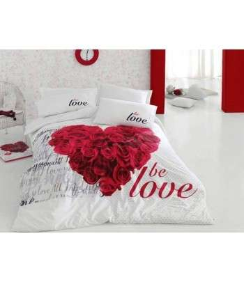 COTTON BOX Parure de Lit 3D BE LOVE