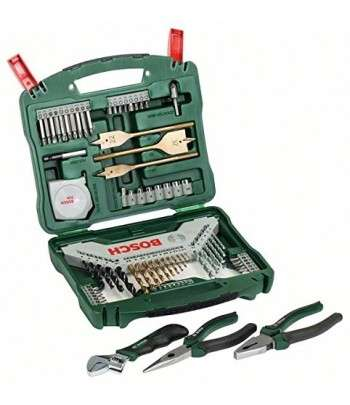 BOSCH Coffret 70pcs X-LINE + Pinces