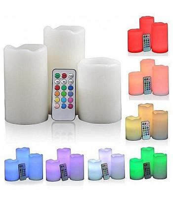 Bougies LED Multicouleurs