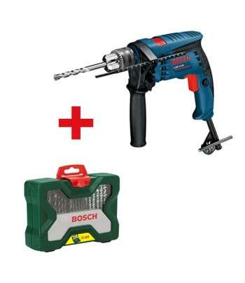 BOSCH Pack Perceuse GSB 13 RE+Coffret 33 pcs
