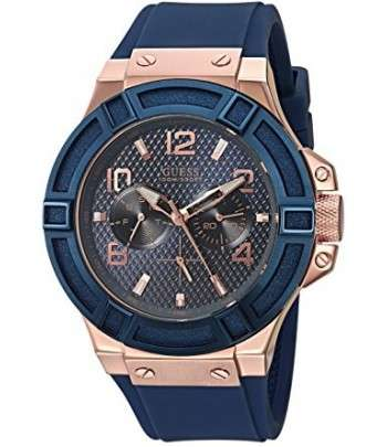 GUESS Montre Silicone Casual Watch 5a87914a6eb