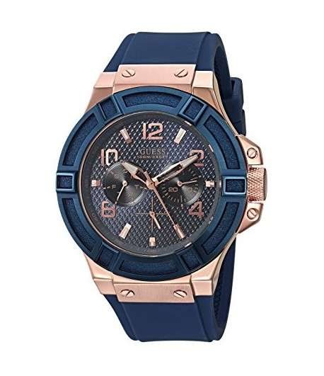 GUESS Montre Silicone Casual Watch