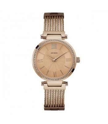 GUESS Montre Soho Or Rose Femme
