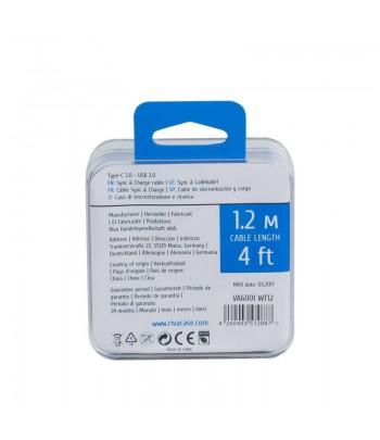 RIVAPOWER câble MFi Lightning 1.2m blanc