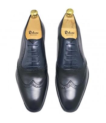 DELUXE GASTON Chaussure Cuir Noir